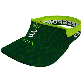 Compressport Ultralight Daszek Camo Neon 2020, jungle green